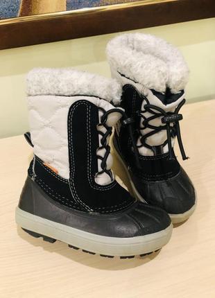 Зимові чобітки demar 24-25р.до15,5см.