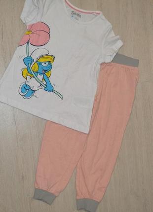 Набор для дома,  пижама  набір штани футболка  піжама