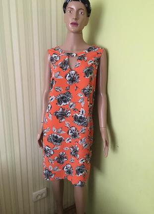 Платье в цветочный принт от papaya