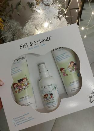 Набор для купания fifi & friends the bathtime essentials gift set