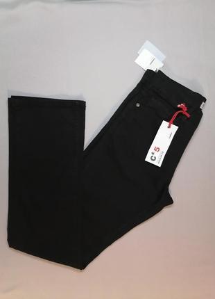 Celio c*5 новые классические базовые прямые мужские джинсы черного цвета