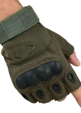 Перчатки без пальцев штурмовые тактические