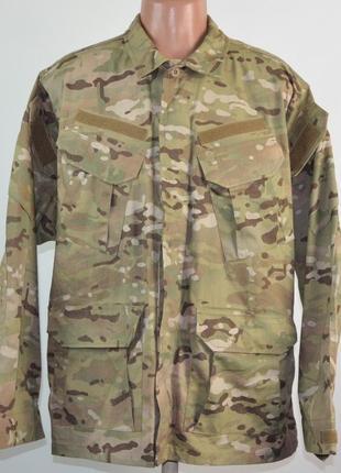 Тактическая полевая куртка helikon tex sfu (l) камуфляж mtp