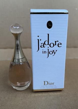 Dior jadore in joy edt миниатюра аромата 5ml