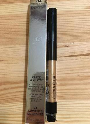 🔥-85%🔥 хайлайтер lancome click & glow highlighting skin fluid оригинал