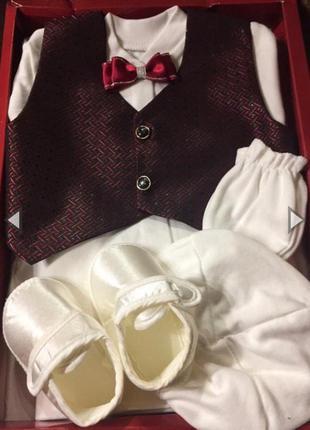 Подарочный комплект для крещения