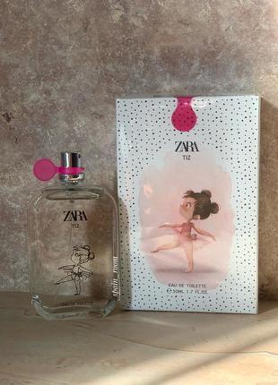 Духи zara tiz /zara kids/ духи для девочек /детская туалетная вода