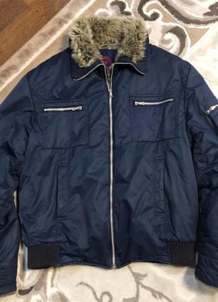Куртка пуховик парка чоловіча