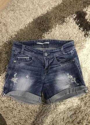 Джинсовые шорты шортики короткие шорты коротенькие шорты