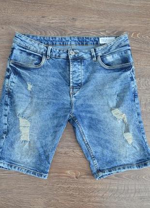 Шорты последних коллекций denim co ® slim fit jeans men's short