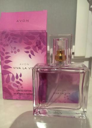 Духи, жіночі парфуми, парфумна вода 30мл, avon, viva la vita