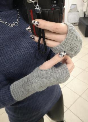 Митенки, перчатки, рукавички 🧤