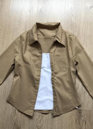 Рубашка orsay на молнии размер s