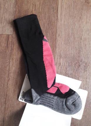 Женские функциональные зональные лыжные высокие носки, термо гольфы crivit германия