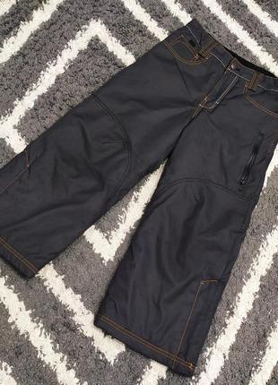 Тёплые термо штаны h&m