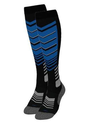 Мужские функциональные зональные лыжные высокие носки, термо гольфы crivit германия