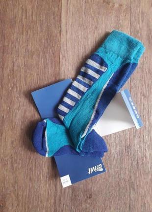 Функциональные женские зональные лыжные высокие носки, термо гольфы crivit германия
