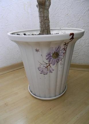 Горшок керамический для вазонов деревьев