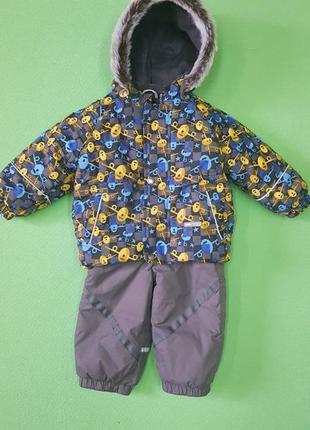 Куртка комплект комбинезон полукомбинезон lenne 80 86