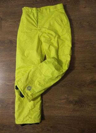 Спортивные лыжные тёплые штаны