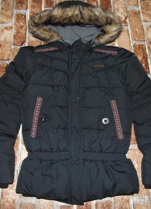 Теплая куртка девочке зима еврозима 12 лет