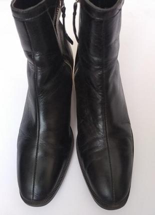 Ботинки кожа zara 36-37
