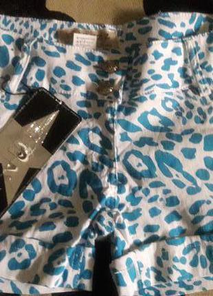 Коттоновые стрейчевые шорты, размер 30