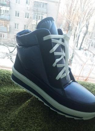 Сезонная распродажа зимние ботинки хайтопы дутики