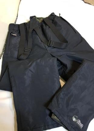 Комбенезон,лыжные штаны,площевка,штаны на лямках.