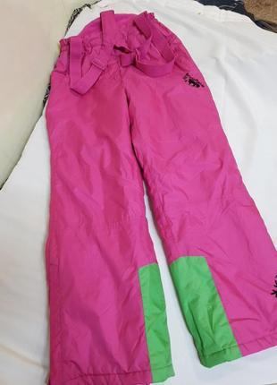 Комбенизин,лыжные штаны,теплые штаны на девочку 146-152см рост.