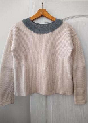 Шерстяной свитер jigsaw, xs