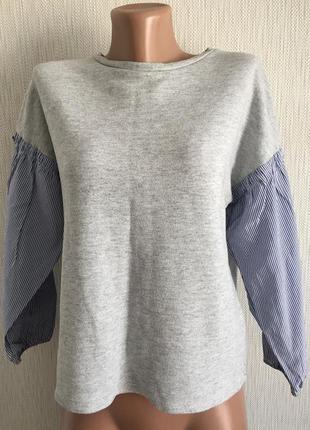 Свитшот рубашка zara
