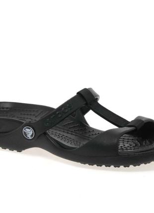 Шлепанцы, сандалии  crocs™ cleo iii, w7