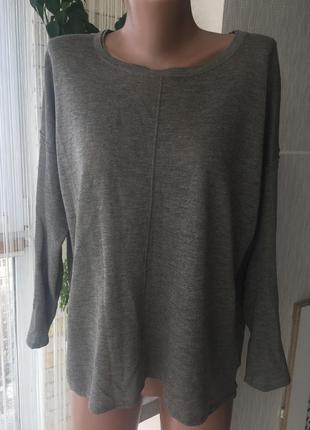 Тонкий свитер с люрексом h&m