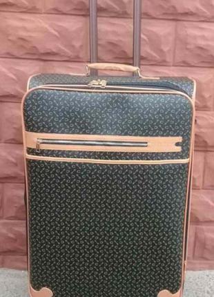 Эксклюзив! богатый чемодан из эко кожи средний без предоплат валіза середня киев