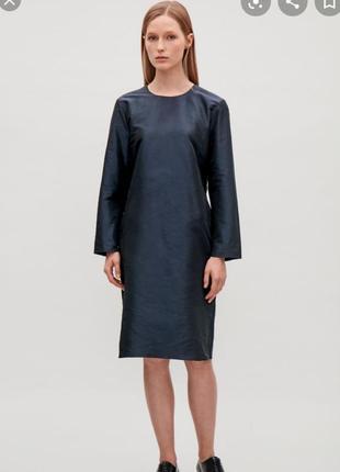 Платье cos с необработанными краями
