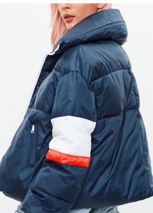 Куртка курточка пуффер дутая пуховик missguided