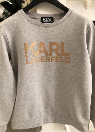 Худи  karl lagerfeld  100% cotton !