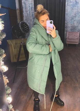 Женская зимняя куртка зефирка