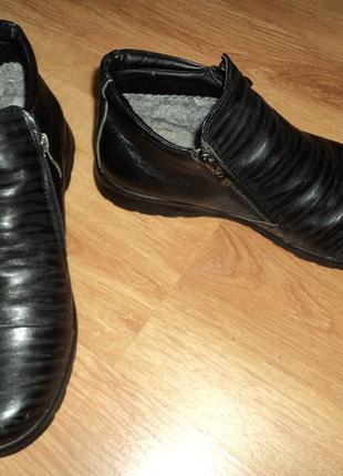 Мужские зимние туфли ботинка masis размер 42 стелька 27 см