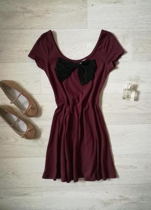 Платье с бантом h&m