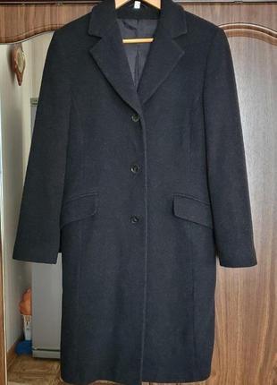 Базовое теплое шерстяное пальто / пальто бойфренд