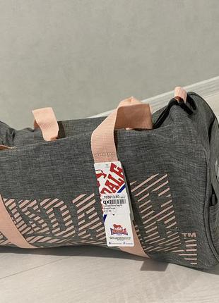 Женская сумка боченок lonsdale