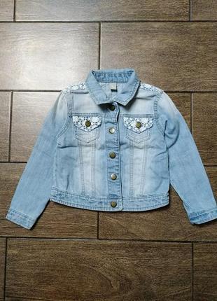 Джинсовый пиджак # джинсовая курточка