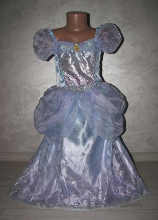 Платье «золушки» р.6-7л. disney princess