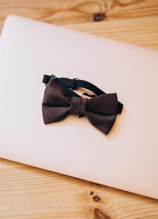 Краватка метелик vsetex коричнева