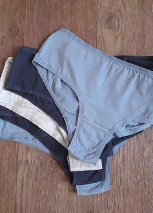Набор 5 шт женские трусики хипстеры трусы lingerie esmara германия цена за набор