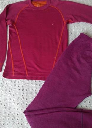 Термобелье devold из мериносовой шерсти термо реглан штани термобілизна шерсть мериноса