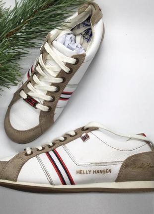 Кеди з натуральної шкіри від helly hansen!!