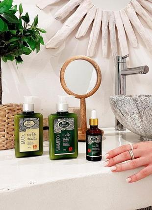 Набор для роста волос тианде (шампунь, маска, тоник)